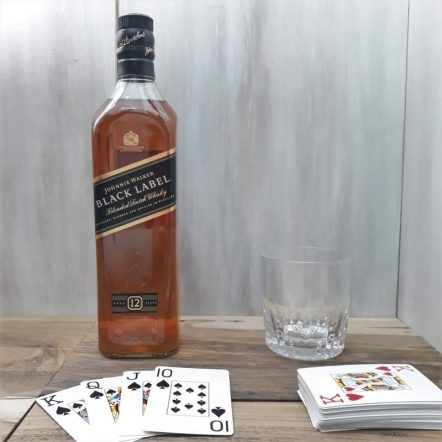 Rgalos para hombres whisky Black Label